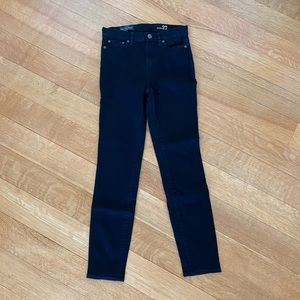 JCREW high rise skinny jeans black size 27